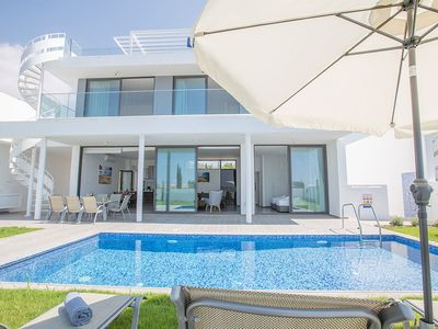 Photo for Villa Ayia Napa Tria - Brand New 4 Bedroom Ayia Napa Villa with Pool - Short walk to Nissi Beach