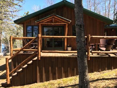 Photo for Loon Point Cabin in Ely - canoe included!