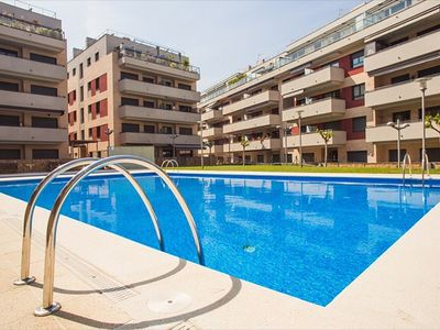 Photo for Apartment equipped with 3 rooms Fenals with pool