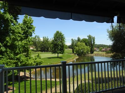 Photo for Beautiful pond and golf course view