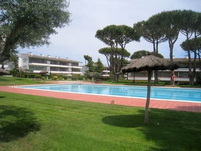 Photo for Duplex in Calella Park community with pool and large garden area