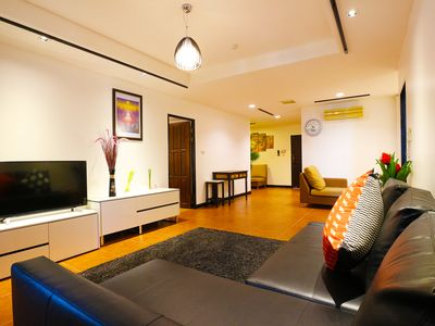 Photo for 2BR. Spacious, 140 Sqm, BTS Skytrain 5 min, Central Located
