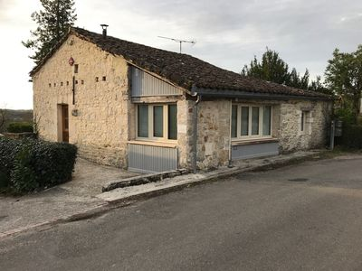 Photo for MONTAT, 46 Lot, Quercy white. Small house with garden