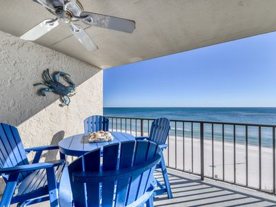 Photo for Low density, Gulf front condo w/ stunning views, outdoor pools, & beach access!