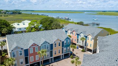 Turtle Bay 10 - Hello Folly - Townhome - Pool - Fishing Dock - River View