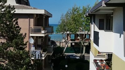 Photo for Apartment in Francavilla, sea view, large, modern with climate and parking.