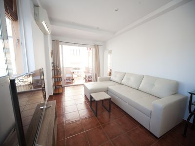 Photo for Charming terrace penthouse full Cister Center, Cathedral, Museum, elevator, WIFI