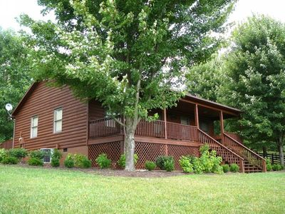 Photo for Cainey Hollow Log Cabin ~ RA164733