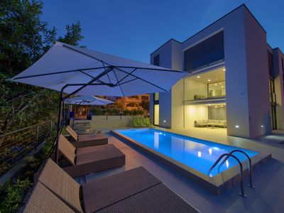 Photo for Villa Celeia - Luxurious villa with pool in city centre of Krk *****