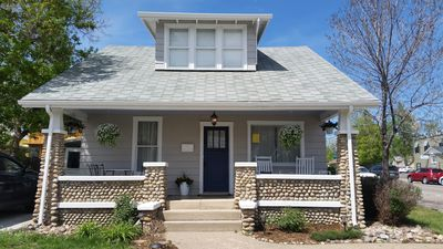 Photo for Charming 1910 House on Main Street - Landscaped Yard Perfect for Small Events