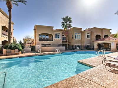 Photo for NEW! Scottsdale Condo Steps to TPC Golf Course!