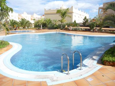 Photo for Spacious And Well Furnished 3 Bedroomed Townhouse With Communal Pools, FREE WIFI