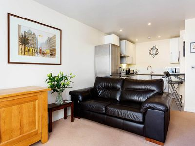 Photo for Practical 1BR apartment with balcony by Regent's Canal, by Veeve