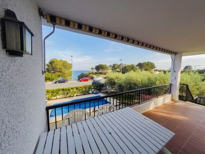 Photo for Villa on the Beach with private pool