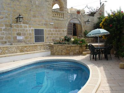 Holiday house Sannat for 3 - 6 persons with 3 bedrooms - Farmhouse