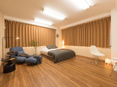 Photo for Design hotel near Ueno/Asakusa with 3 bedrooms