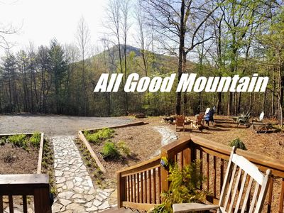 Photo for 🏆Rare Mountaintop retreat- 20ac PLUS trout 🎣stream💦9mi to Blue Ridge