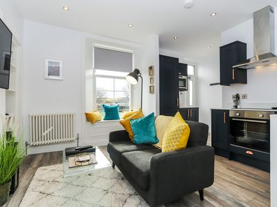 Photo for Modern , stylish one bedroom apartment in the centre of Dollar