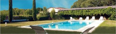 Photo for Mas converted into 4 bedrooms, swimming pool, inn. BUIS, 4 pers, Drôme Valley