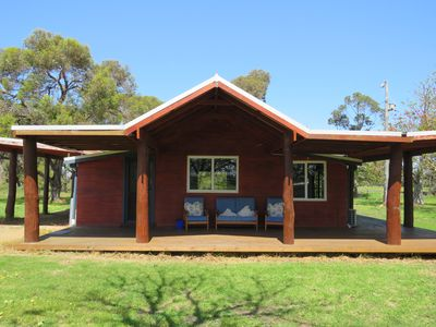The Flame Tree Cottage provides the perfect rural getaway.