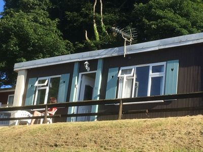 Photo for BLUE HORIZON - amazing sea view chalet on award winning holiday park