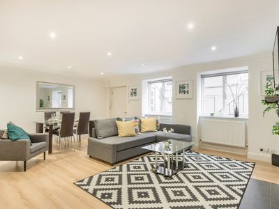 Photo for Garden Apartment, Whitfield House, Central London