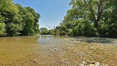 Photo for Modernized Home W/Screened Porch & River Flowing Right In the Backyard