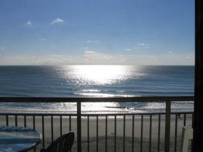 Experience a Fantastic View of the Grand Strand From Our Oceanfront Condo