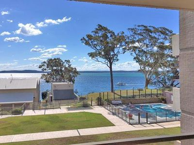 Photo for 16 'The Poplars' 34 Magnus Street - unit in Nelson Bay with beautiful water views