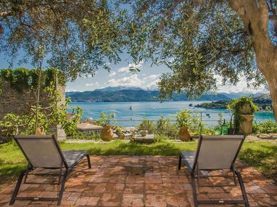 Photo for PORTOVENERE CASTLE VILLA WITH LARGE GARDEN AND MEMORABLE SEA VIEW