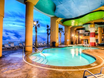 Photo for SNOWBIRD RATES POSTED - Amazing Splash Resort - 2 BD, 2 BA Ocean Front Condo  1902W