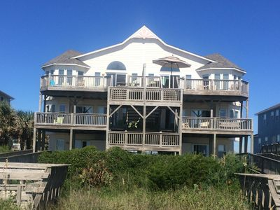 Photo for Gorgeous 5 BR, 5 Bath beachfront home - turnkey beach vacation