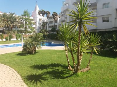 Photo for Nice apartment, near sea, parking s / soil, swimming pool, in building of standing