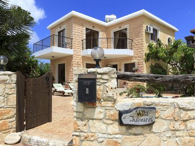Photo for Accommodation with Private Pool and Stunning Sea and Mountain Views