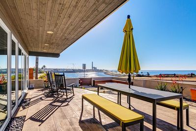 Relax on our Ocean View Deck in Carlsbad