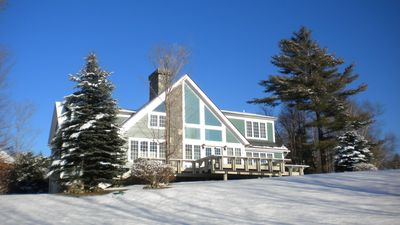Photo for Custom 5 bedroom home with spectacular views of ski trails 2.7 miles to K1 lodge