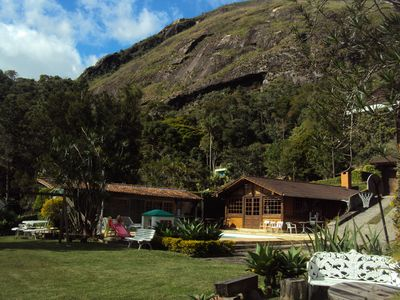 Photo for PARAISO SECRET IN THE MOUNTAINS, HOUSE WELCOMES WITH LARGE RECREATION AREA