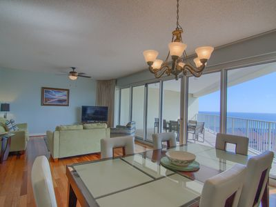 8th floor beach front condo in Tides @ Topsl