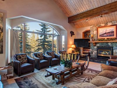Photo for Ski-In/Out Luxury House w/ 4 Master Suites & FREE In-Town Winter Shuttle