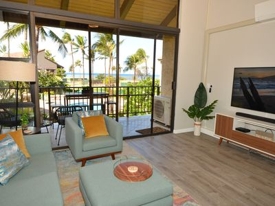 Photo for Modern 2-Bed Ocean View / Ocean Front / A/C Condo