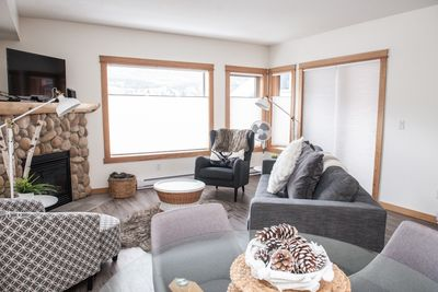 Main living area features mountain views from every window!