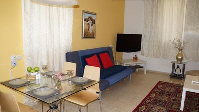 Photo for FULLY FUNISHED 1 BED/2BATH BEAUTIFUL APARTMENT NEAR THE BEACH & TEL-AVIV PORT