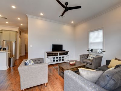 Photo for NOLA SUITES: LUXURY COTTAGE 3 BEDROOMS 3 FULL BATHS MINUTES FROM DOWNTOWN/FRENCH QUARTER/ SUPERDOME