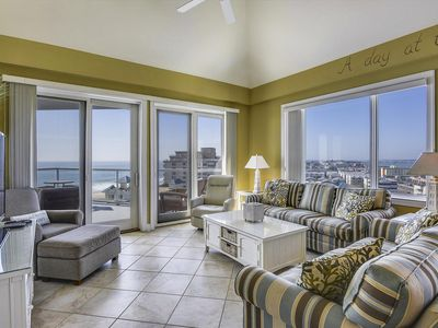 Photo for Meridian 1001W - Luxury Penthouse Unit with Amazing Views of the Ocean and Bay!