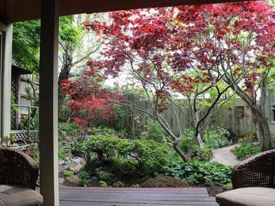 Photo for Secluded Garden Retreat conveniently located between SFO & SF