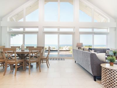 Photo for Newly Available- Luxury Lake Michigan Lakefront Home with Pool and Beach