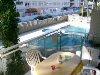 Photo for SALOU- BEAUTIFUL CENTRAL APARTMENT, WITH SUNNY SWIMMING POOL THE WHOLE DAY, CLOSE TO BEACH OF EAST...