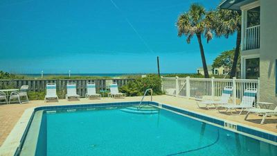 Photo for Island Beach Club 4 - Condo 2 Bedroom / 1 Bath ground level gulf front , maximum occupancy of 4 people.