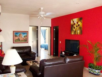 Photo for Gorgeous Affordable Penthouse, Stunning rooftop! Playa Del Carmen 3 BR/3BA