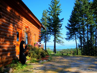 Photo for Beautiful Lakeview Vacation Log Home with Private Outdoor Spa
